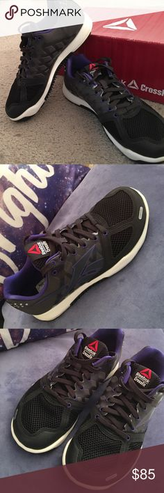 Reebok Crossfit sneakers size 7 NIB Brand new, in box and so cute! only worn for a few minutes in my living room and realized they were too big. They run true to size and I usually wear a 6 or 6.5 but thought I could make the 7 work  Reebok Shoes Sneakers