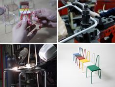 See how a chair inspired by a Picasso line drawing was made