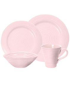 Think pink! Portmeirion Dinnerware, Sophie Conran Pink Collection