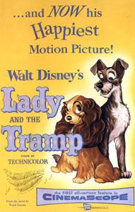 1955: Lady And The Tramp