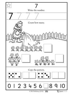 Numbers worksheet
