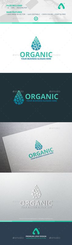 Organic Logo - Nature Logo Templates