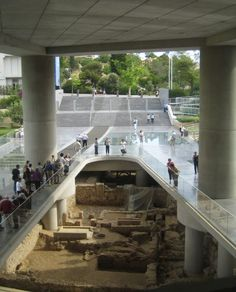 A city under the city: Excavation at the Acropolis Museum. Photo © Wikimedia…