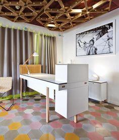 About Fabrics - Nya Nordiska - AVP Architects view Products - CasaDecor 2015 Orac Decor, Panel Moulding, Indirect Lighting, Office Desk, Modern Design, Interior Decorating, Vanity, Bed, Inspiration