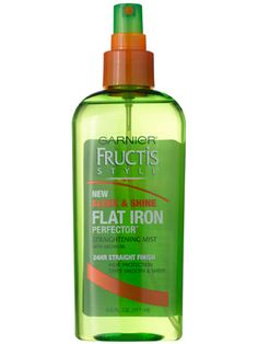 I don't tend to flat-iron too often but when I do, have to pull this out. Smells great and leaves my hair nice and shiny!