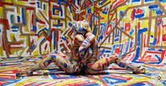 Art Color Ballet Labirynth photography: Agnieszka Glińska bodypainting: Agnieszka Glińska, Anna Seręga