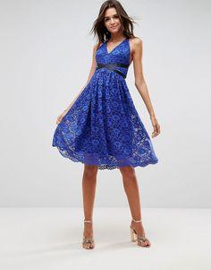 Asos tall kleid blau