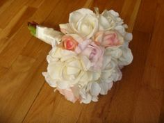 How to make a faux flower bridal bouquet fake wedding flowers how to make a faux flower bridal bouquet fake wedding flowers flower bouquets and fun projects mightylinksfo
