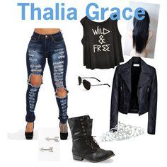 Thalia Grace by Gubbs on Polyvore featuring polyvore fashion style Balenciaga Tomas Calvin Klein Kate Marie