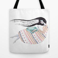 Music  Tote Bag by Isabel Valfigueira - $22.00