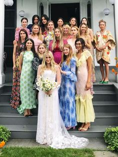17 Celebrity Bridesmaids That Looked Incredible but Didn't Show Up the Bride via @WhoWhatWearUK
