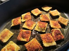 Appetizer Recipes for a Crowd RECIPES | If making for later, place cooked ravioli in a single layer on a ...