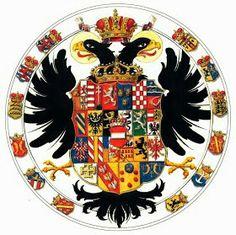 Wappen, Österreich, Habsburg  / Coats of Arms, Austria, Habsburg / Armas y Escudos, Imperio Austriaco,  Habsburgo. ( Michael Göbl, Das Wappen-Lexikon der Länder habsburgischen)