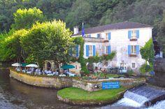 Le Moulin de l'Abbaye, Hotel et Restaurant a Brantome en Perigord (Dordogne)