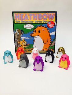 "Frank Kozik - 3"" Heathrow The Hedgehog Mini Series (Blind Box)"