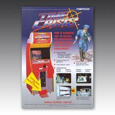 Time Crisis Arcade Machine