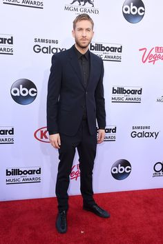 Pin for Later: Le Tapis Rouge des Billboard Awards Était Très Impressionnant Calvin Harris