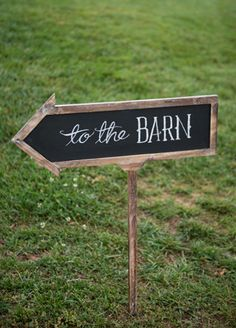 To The Barn Signs // Photo: Carla Ten Eyck
