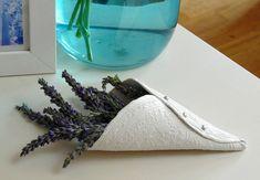 Air Drying Clay Lavender Display Idea