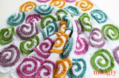 Subscribe to the Free Weekly Newsletter The Modern Rose Afghan isa gorgeous motif based blanket, that can be made in any size, and features gorgeous modern spirals that pop out in 3D for a floral impression that is modern and fun! It's a wonderful balance between the floral and the graphic – for everyone to [...]