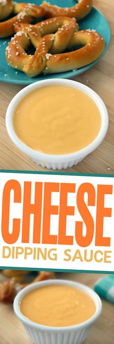 This is a Classic Cheese Dipping Sauce Recipe perfect for pairing with pretzels or nachos as an appetizer and works great over veggies like brocolli too!