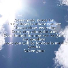 Never Gone lyrics Backstreet Boys