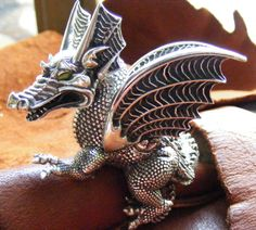 Merlin's Dragon ring from the Sorcerer's Apprentice.  My Precious...