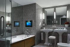 Ham Yard hotel deluxe junior suite bathroom