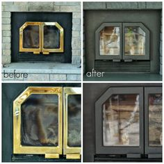 Fireplace Doors On Pinterest Fireplaces Brass And House