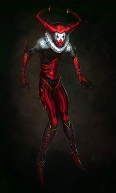 Red Jester by saintbug.deviantart.com on @deviantART