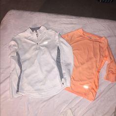 Workout tops. Half zip pullover jacket and top Mid sleeve and half-zip tops - EUC Avia Tops