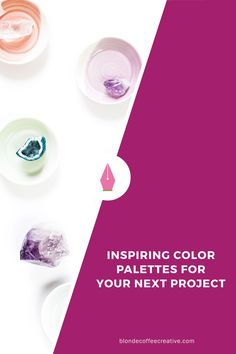Need a color palette for you new creative project? Here are some palettes to get you inspired and revved to start your project. Click though to download your color palette now! inspiring-color-palettes
