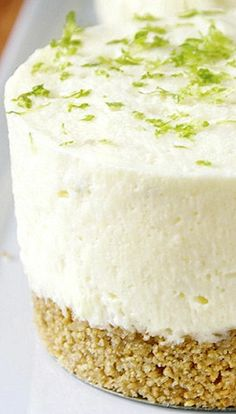Mini Key Lime Pie Cheesecake