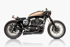 The Bald Terrier 1200 by Deus Australia is a beautiful redesign of the 2007 injected Harley Sportster 1200.