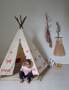 adorable teepee tent