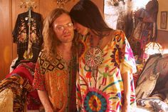 Portlandia Parody or real life? Tracy & Stephen McCarty Closet Interview for StyleLikeU by StyleLikeU Parody Videos, Hippie Love, Beautiful Outfits, Beautiful Clothes, Your Style, Interview, Kimono Top, Cover Up, Bohemian
