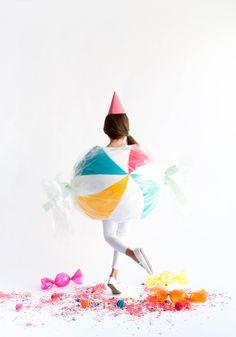 Round Candy Costume
