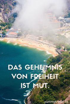 Reise Sprüche und Reise Zitate für jede Gelegenheit!
