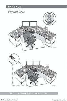 Browse Inside Cubicle Warfare: 101 Office Traps and Pranks by John Austin Office Warfare, Annoying Coworkers, April Fools, Cubicle, Pranks, Random Things, Random Stuff, April Fools Pranks, April Fools Day