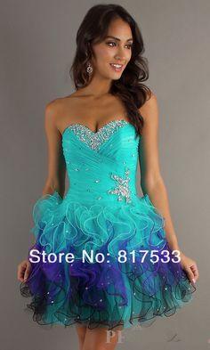 Sweet 16 Dresses short blue | Vestidos de 15 anos | Pinterest ...