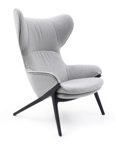The Patrick Norguet Wingback Chair was created by Patrick Norguet for the Italian design label Cassina.Since its launch in Cassina has been associated Contract Furniture, Sofa Furniture, Furniture Design, Wing Chair, Sofa Chair, Swivel Chair, Chaise Longue Design, High Back Chairs, Crates