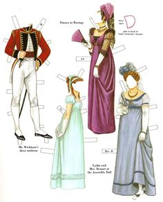 Pride and Prejudice | Gabi's Paper Dolls