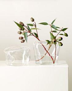 Paired back arrangements of Australian foliage