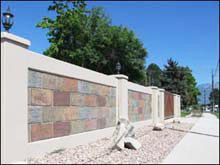 StoneTree® Precast Concrete Block Walls are the most true to life textures and patterns available, including split face block, block slate, river rock, ashlar stone, dry stacked stone, sand finish stucco and custom architectural designs.