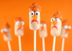 {Recipe} Disney The Muppets: Beaker Cake Pops