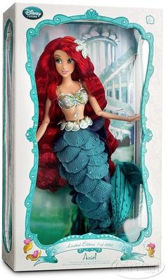 Disney Store Limited Edition Ariel Collectible 17 inch Doll