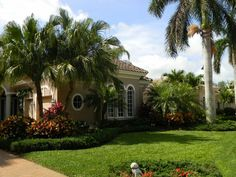 Your lawn will always look this great with #CrawfordLandscaping #LandscapeMaintenance #LandscapingNaples