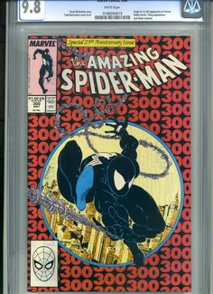CGC comic book for sale: Amazing Spider-Man #300 CGC 9.8 ending Sunday, January 20th on eBay www.miraclecomics.com