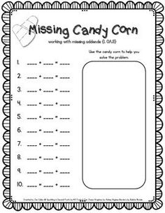 Candy Corn Missing A