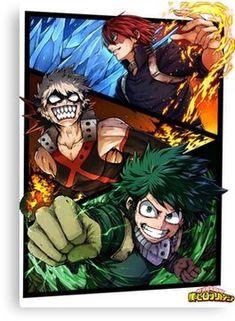 boku no hero academia sub español online anime pinterest boku
